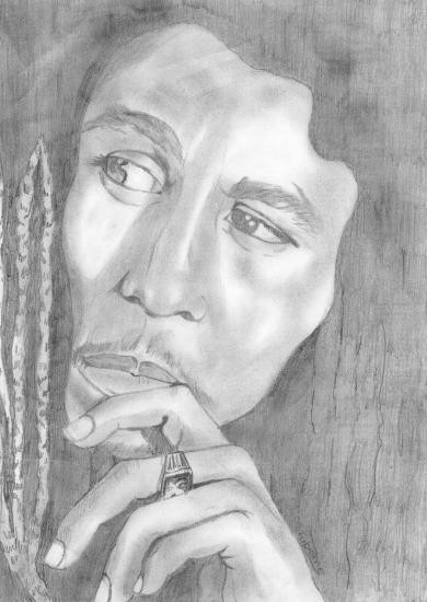Bob Marley by fabdulogie